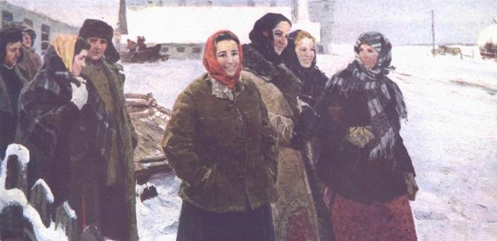 Countrymen of Taras Shevchenko. The farmers of the village of Morintsy (co-author David Shostak)