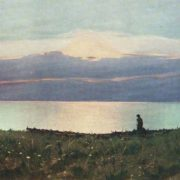 Evening at the Issyk-Kul