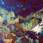 Festive salute. Oil on canvas. 2005