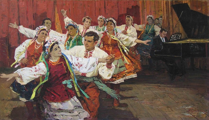 Folk dance. 1975