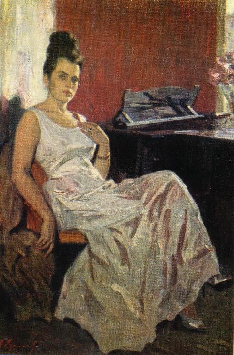 Galina Vishnevskaya, People's artist of the USSR. 1963