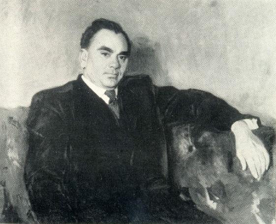 Hero of Socialist Labor A.V. Topchiev. 1951