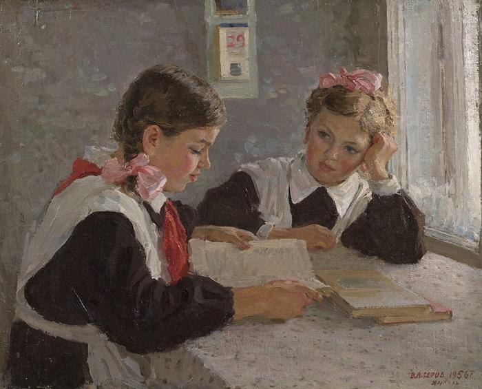 Homework. 1956