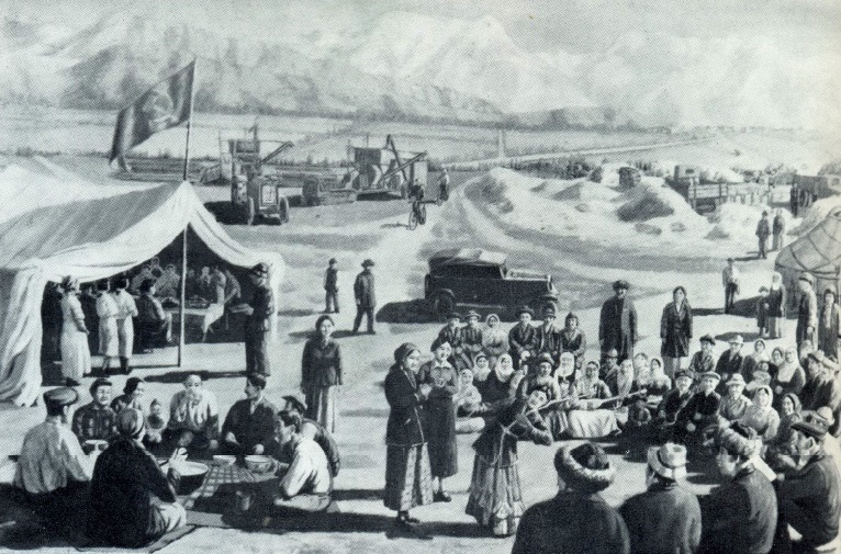 Kolkhoz toi (Collective farm meeting place). 1937