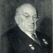 Labor Hero, Academician A.I. Abrikosov. 1951