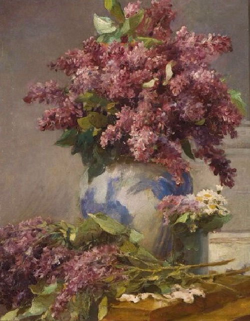 Lilac. 1948. Oil on canvas