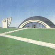 Museum of the Soviet-Polish military commonwealth, Lenino, Belarus, 1968. sculptor Vladimir Tsigal