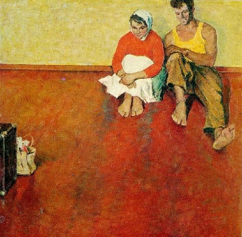 Soviet Belarusian artist Mai Dantsig 1930-2017
