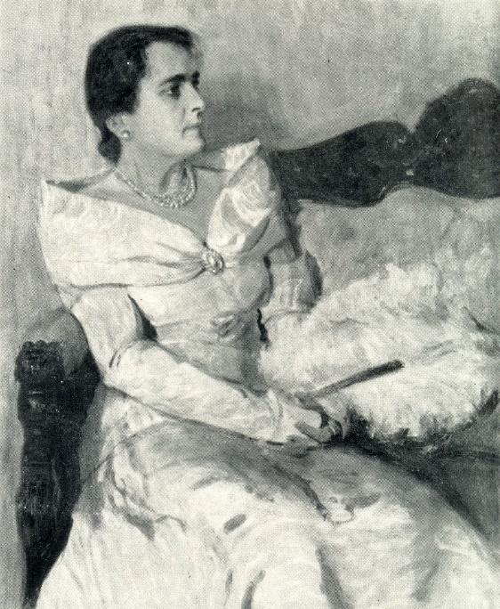 People's Artist of the USSR E.N. Gogoleva. 1946