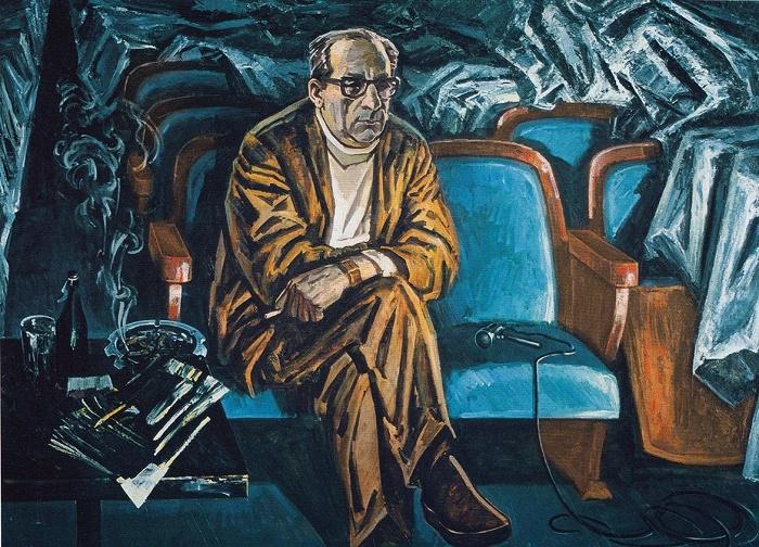 G. Tovstonogov, People's Artist of the USSR. 1976