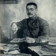Portrait of Sayanov. 1947