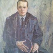 Portrait of lieutenant E.N. Gorn. 1970
