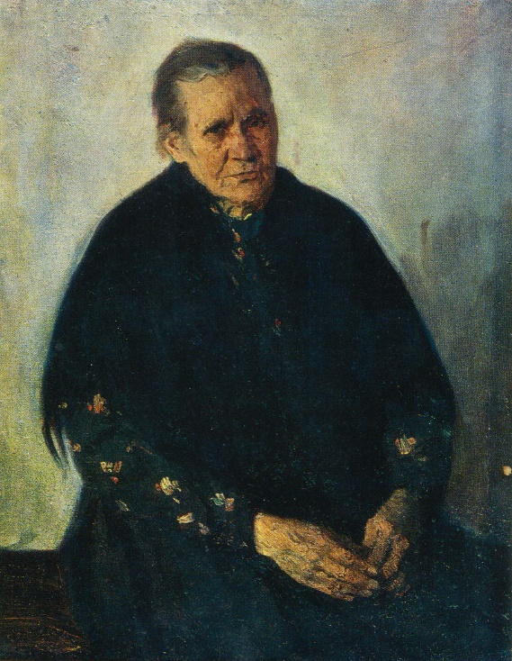 Portrait of mother. 1942