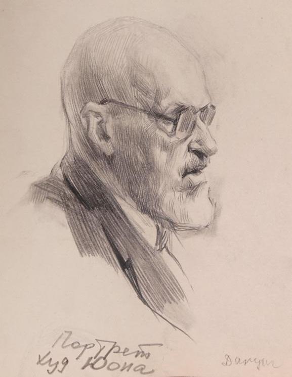 artist Konstantin Yuon. 1956
