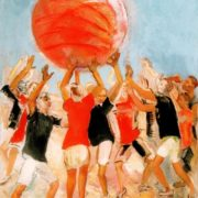 Pushball. 1931. The State Tretyakov Gallery, Moscow