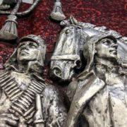 Red Army soldiers, detail