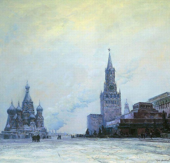 Red Square. 1948. TG