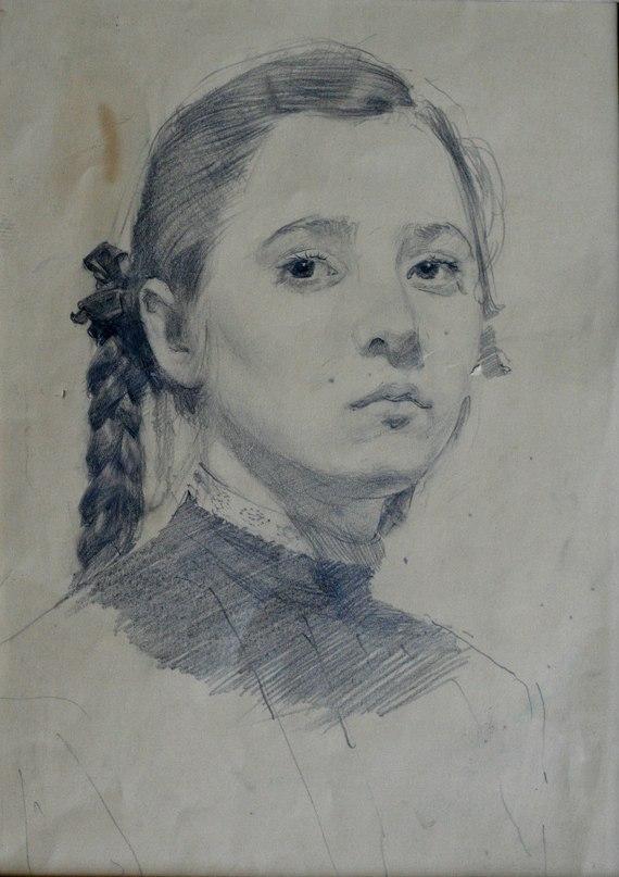 Schoolgirl portrait