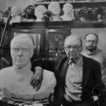 Soviet Russian sculptor Vladimir Sychev 1917-1995