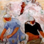 Sorting cotton. 1931. The State Tretyakov Gallery, Moscow