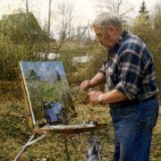 Soviet painter Vyacheslav Shumilov (1931 - 2004)
