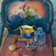 Still life with a tray. 1915-1916