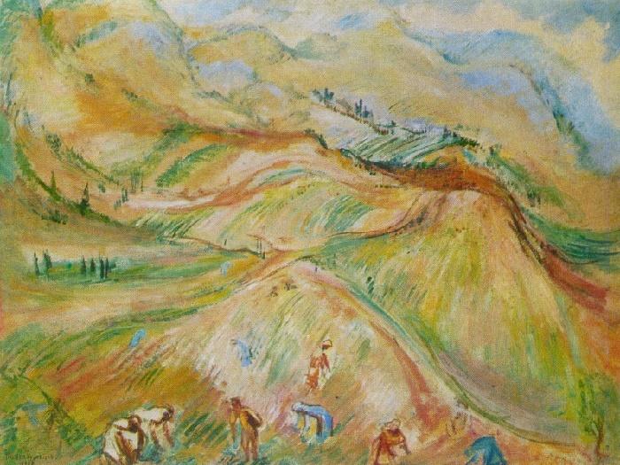 Tea plantations in Chakva. 1928
