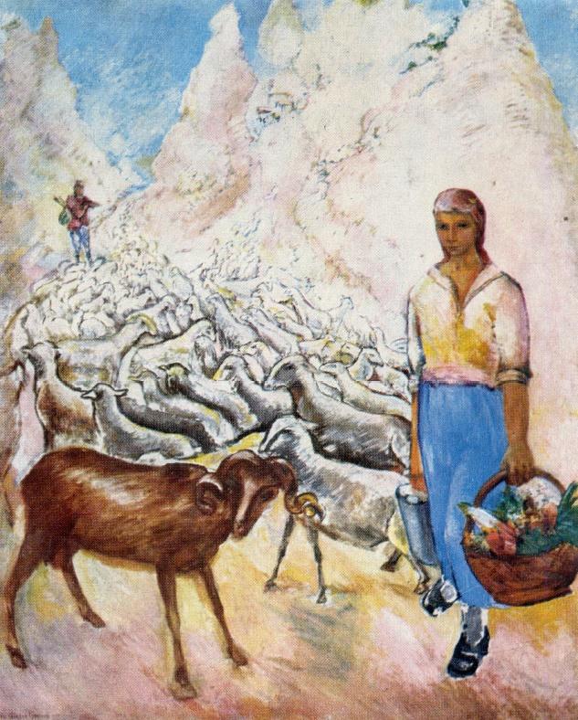 The Crimean collective farm. 1928