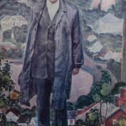 The owner of his native land. Twice Hero of Socialist Labor F. Zhelyuk, 1975