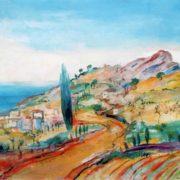 The road in the Crimea. 1926. Saratov Art Museum