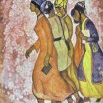 Soviet Turkmen artist Chary Amangeldyev