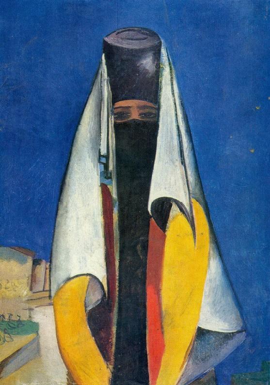 Uzbek woman. 1920
