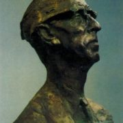 Portrait of composer D.B. Kabalevsky. 1961. Bronze