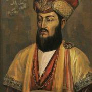 portrait of Turkmen hero