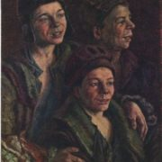 1926 portrait of homeless children. 1926. Tretyakov gallery