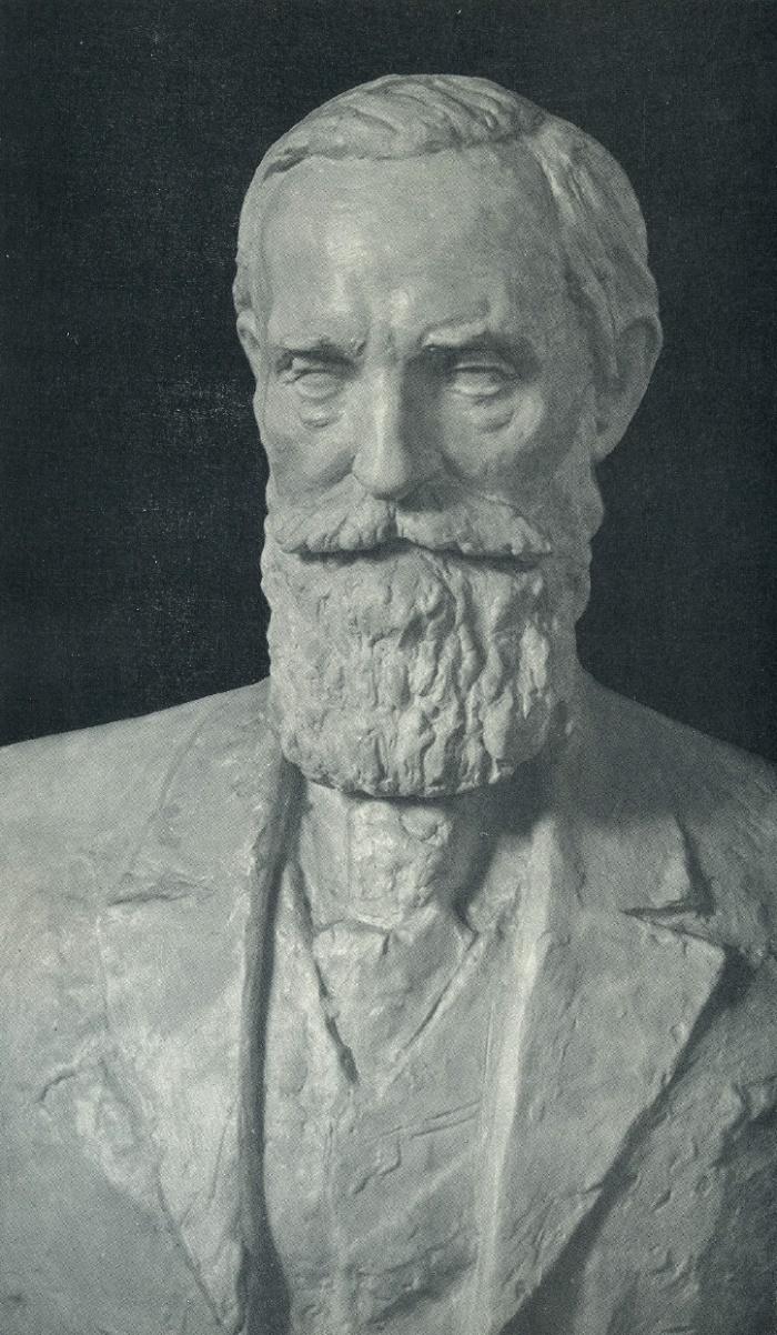 Academician I.M. Sechenov. Gypsum. 1953-1955