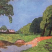 After the rain in spring. 1911