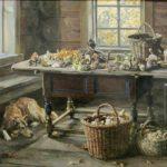 Soviet artist Alexandr Alexeyevich Gritsai 1950-1988
