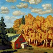 Autumn. 1918. Pskov art museum