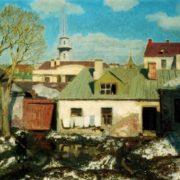Back yard. 1924