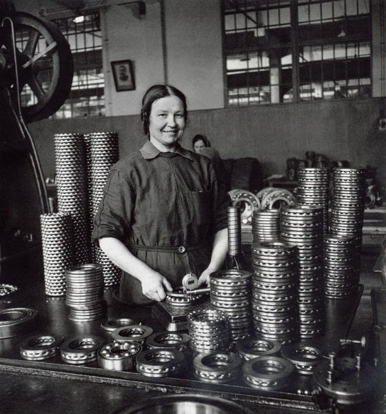 Ball Bearing Plant. Moscow 1959