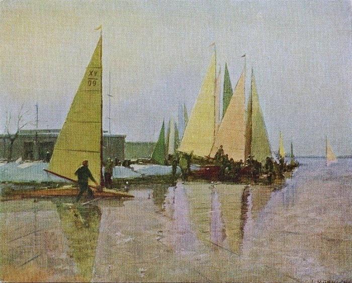Boers. 1956. Laimdot Murniek (1922-2011)