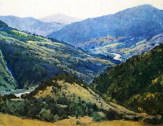 Carpathians. 1953