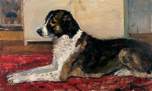 Central asian shepherd dog. 1968. Oil on canvas