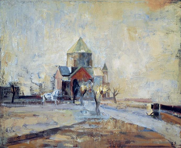 Church of Hripsime. 1975