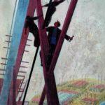 Soviet painter Vyacheslav Shumilov 1931-2004