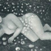 E.A. Volkova. Siberian beauty. 1975