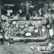 Folk festivities on the banks of the Irtysh. E.A. Volkova. 1976