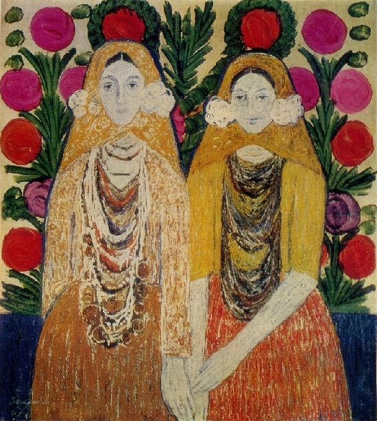 Soviet artist Vilgelmina Dmitriyevna Zazerskaya