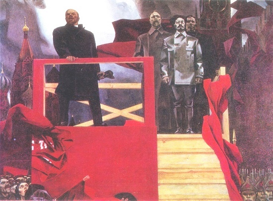 Soviet artist Gennady Sidorovich Mosin